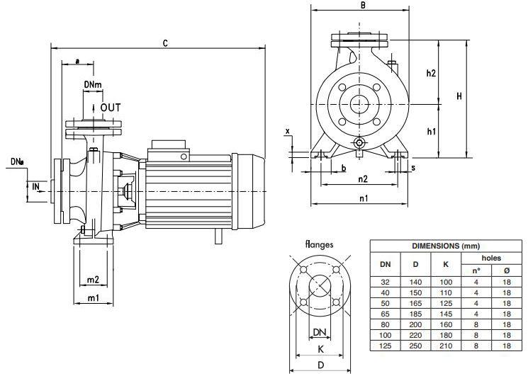 Cấu tạo máy bơm Pentax CM32